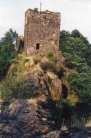 Ralsko - výchozy tefritu na vrcholu, Jiří Adamovič, 1995