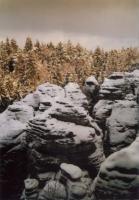 Prachovské skály - skalní město, Markéta Vajskebrová, 2000