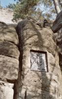 Miniaturní skalní město s křížovou cestou ze 17. století, Pavla Gürtlerová, 2003