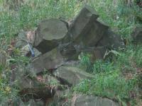 Kamenný vrch - sloupcovitý rozpad olivinického alkalického bazaltu, Bedřich Mlčoch, 2003