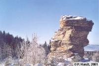 Největší skalní věž Kazatelen, Pavel Hanžl, 2001
