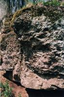 Skalky v lesoparku v Semilech, Markéta Vajskebrová, 2003