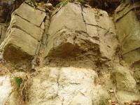 Světlé kaolinické pískovce triasu (bohdašínské souvrství) a na nich glaukonitické pískovce křídy (korycanské vrstvy), Pavla Gürtlerová, 2004