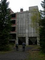 Důl Rolava-východ, budova pouštěné úpravny, Karel Breiter, 2003