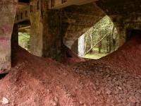 Důl Rolava-východ - ruda vytěžená před koncem války dosud marně čeká na zpracování, Karel Breiter, 2003