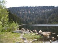 Plechý (1378 m)  od Plešného jezera, Pavla Gürtlerová, 2004