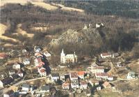Letecký pohled na Andělskou Horu, P. Holec, 2003