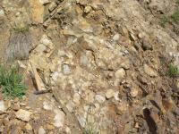 Lom Jezírko u Dobříše odkrývající sedimenty štěchovické skupiny svrchního proterozoika., Pavel Bokr, 2004