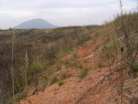 Pohled na severní část vytěžené jámy lomu, Pavla Gürtlerová, 2006
