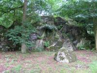 Skalní výchoz bazaltoidů s pamětní deskou J. W. Goetheo., Bedřich Mlčoch, 2007