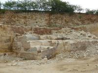 Těžba opuk pro potřeby oprav historických staveb., Pavel Čáp, 2007