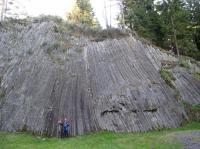 Sloupcová odlučnost vulkanitů na lokalitě Rotavské varhany., Pavel Bokr, 2007