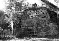 Vápencový lom ve svrchním devonu ve Velkém Vápenném u Jitravy, Josef Svoboda, 1964