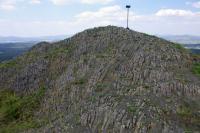 Lysá skála - nejvyšší čedičový suk z Provodínských kamenů., Ondřej Svačinka, 2008