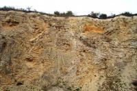 Jeden z nejinstruktivnějších odkryvů svrchním devonem moravského krasu - frasn (vilémovické vápence) a famen (hádsko-říčské a křtinské vápence). Na varisky deformovaných vápencích jsou uloženy jurské mělkomořské karbonáty s hojnou faunou amonitů, belemnitů, brachiopodů apod., Tomáš Kumpan, 2006