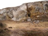 Nerestský lom - komínová dutina v jižní stěné lomu, Pavla Gürtlerová, 2009