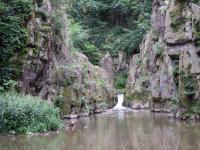 Malý vodopád ve vulkanitech na Zbirožském potoku, Petr Čoupek, 2009