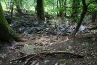 Erozivní činnost drobného přítoku Průčelky následek bleskové povodně 20.7.2009, Vladislav Rapprich, 2009