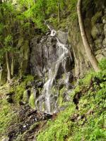 Vodopád v uzávěru Pručelské rokle , Pavla Gürtlerová, 2009