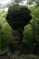 Skalní hřib (cca 5m) v bazaltoidech., Vladislav Rapprich, 2009