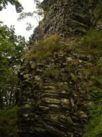 Výchozy bazaltů na Velkém Jelením vrchu., Pavla Gürtlerová, 2009