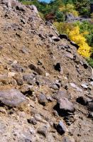 Uloženiny úlomkových proudů (laharů) na lokalitě Divoká rokle, Vladislav Rapprich, 2003