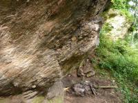 Skalní sruby v s. úbočí vrchu Výrovec (686 m) tvořené migmatitiy., Pavla Gürtlerová, 2010