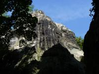 Pískovce svrchního karbonu na skalách nad Knovízem., Pavla Gürtlerová, 2010