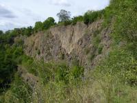 Lomová stěna na Slánské hoře., Pavla Gürtlerová, 2010