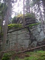 Tor na kótě Myslivna 1040 m n.m, Jiří Rypl, 2004