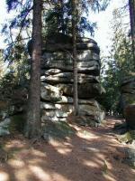 Izolovaný skalní útvar (tor) na Kamenci, Jiří Rypl, 2004