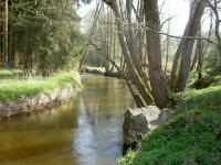 Koryto řeky a výchozy granitů v jejím okolí.  , Miroslav Hátle, 2009