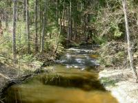 Koryto řeky a výchozy granitů v jejím okolí., Miroslav Hátle, 2009