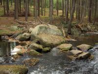 Koryto řeky a výchozy granitů v jejím okolí.  , Miroslav Hátle, 2007