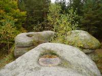 Skalní mísy na vrcholcích Keltských skal., Pavla Gürtlerová, 2010