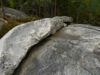 Skalky granitů v okolí Lannova kříže s prvky kulovité odlučnosti. , Pavla Gürtlerová, 2010