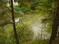 Opuštěný lom v amfibolitech, částečně zatopený., Pavla Gürtlerová, 2010