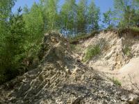Část lomu v granitech s občasnou těžbou., Miroslav Hátle, 2007