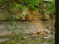 Transgrese křídových sedimentů na fylity novoměstské skupiny., Pavla Gürtlerová, 2011