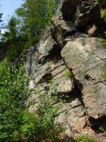 Skalní výchozy ortorul v údolí potoka Čenkovička., Pavla Gürtlerová, 2011