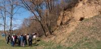 Přírodní památka Losky, odkrytá stěna opuštěného hliniště sv. od Ježova. Kvartérně-geologická a paleopedologická lokalita. Geologická exkurze., Pavla Gürtlerová, 2012