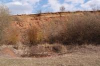 Přírodní památka Medlovický lom - odkrytá z. lomová stěna., Pavla Gürtlerová, 2012