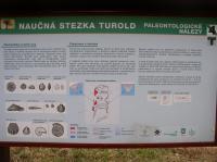 Informační tabule na naučné stezce Turold., Jiří Burda, 2012