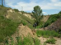 Pískovna zavezená stavební sutí, stav k 1.8.2012., Pavla Tomanová Petrová, 2012