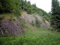 Lom na j. svahu Bukovce v bazaltech., Štěpánka Mrázová, 2009