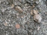Středně zrnitý výrazně porfyrický biotitický granit., Štěpánka Mrázová, 2009