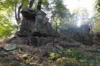 Skalky v bítešských ortorulách na hřebeni Michovce, Pavla Gürtlerová, 2012