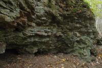 Deformované bítešské ortoruly na výchozech v okolí kóty (600m), Pavla Gürtlerová, 2012