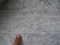 Detail zvrstvení v kaolinizovaných eolických pískovcích líňského souvrství, Richard Lojka, 2012