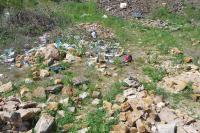 nelegální skladka komunálního odpadu v  opuštěném lomu Těšetice, Bedřich Mlčoch, 2012